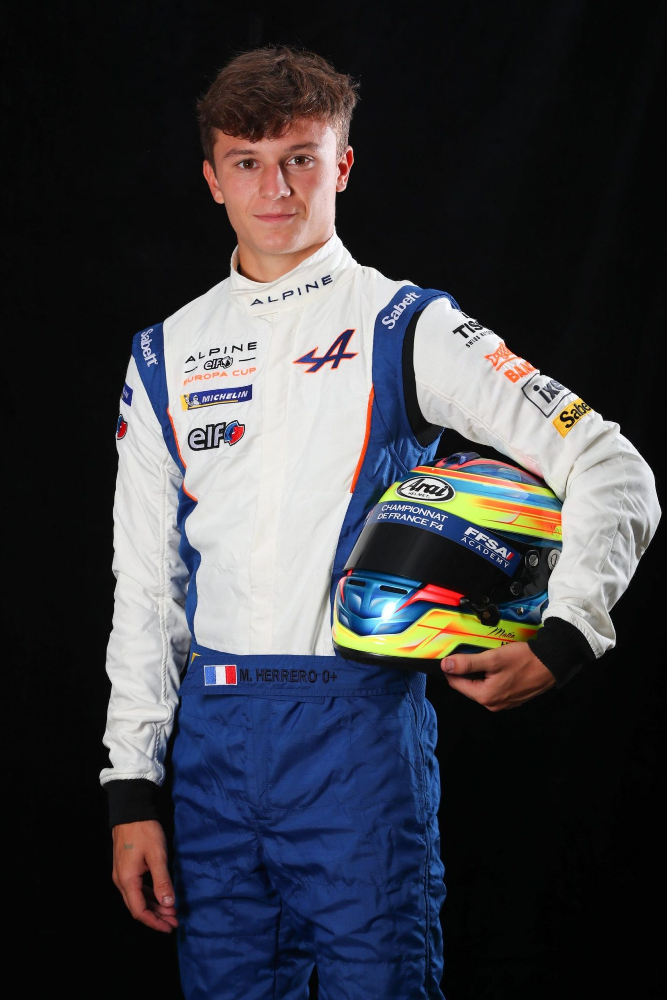 Herrero Mateo (fra), Herrero by Milan Competition, Alpine A110 Cup, Junior, ambiance, portrait during the Coupes de Paques 2020, 1st round of the Alpine Elf Europa Cup, from August 21 to 23, 2020 on the Circuit Paul Armagnac, in Nogaro, France - Photo Gregory Lenormand / DPPI
