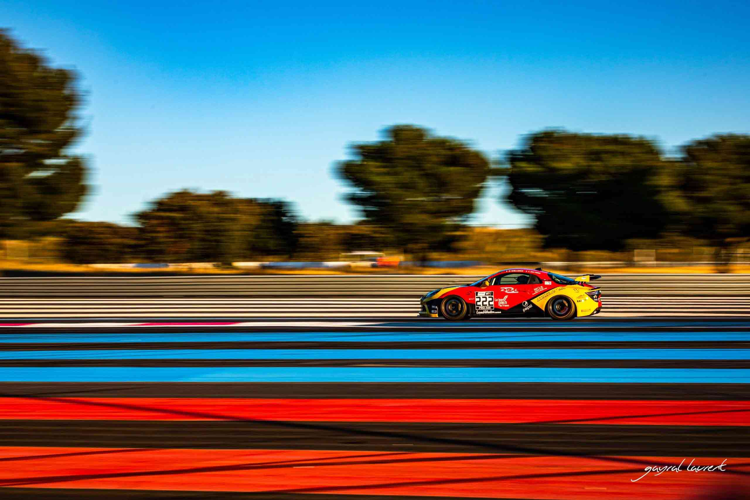 Mirage Racing sur le podium du Championnat de France FFSA GT